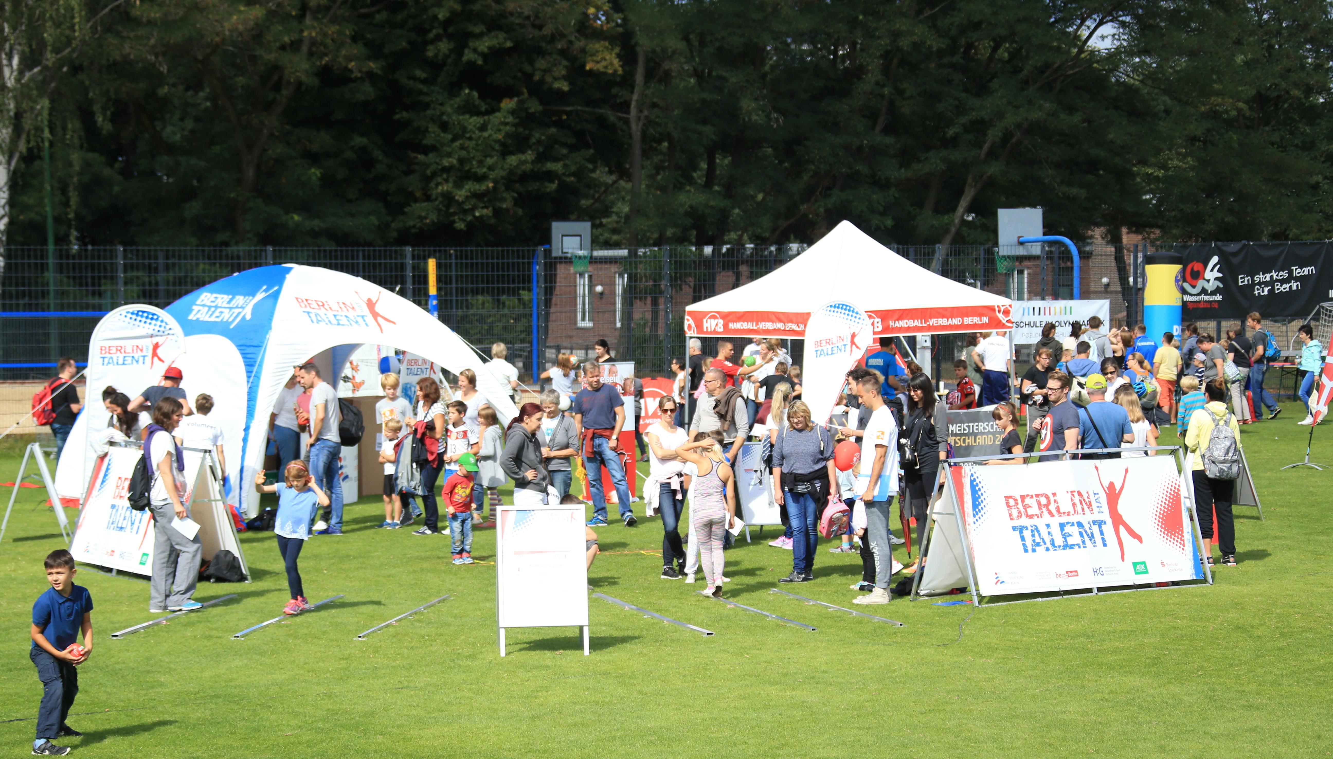 LSB Berlin, Berlin hat Talent, Familiensportfest im Olympiapark, 2017, Foto: Engler