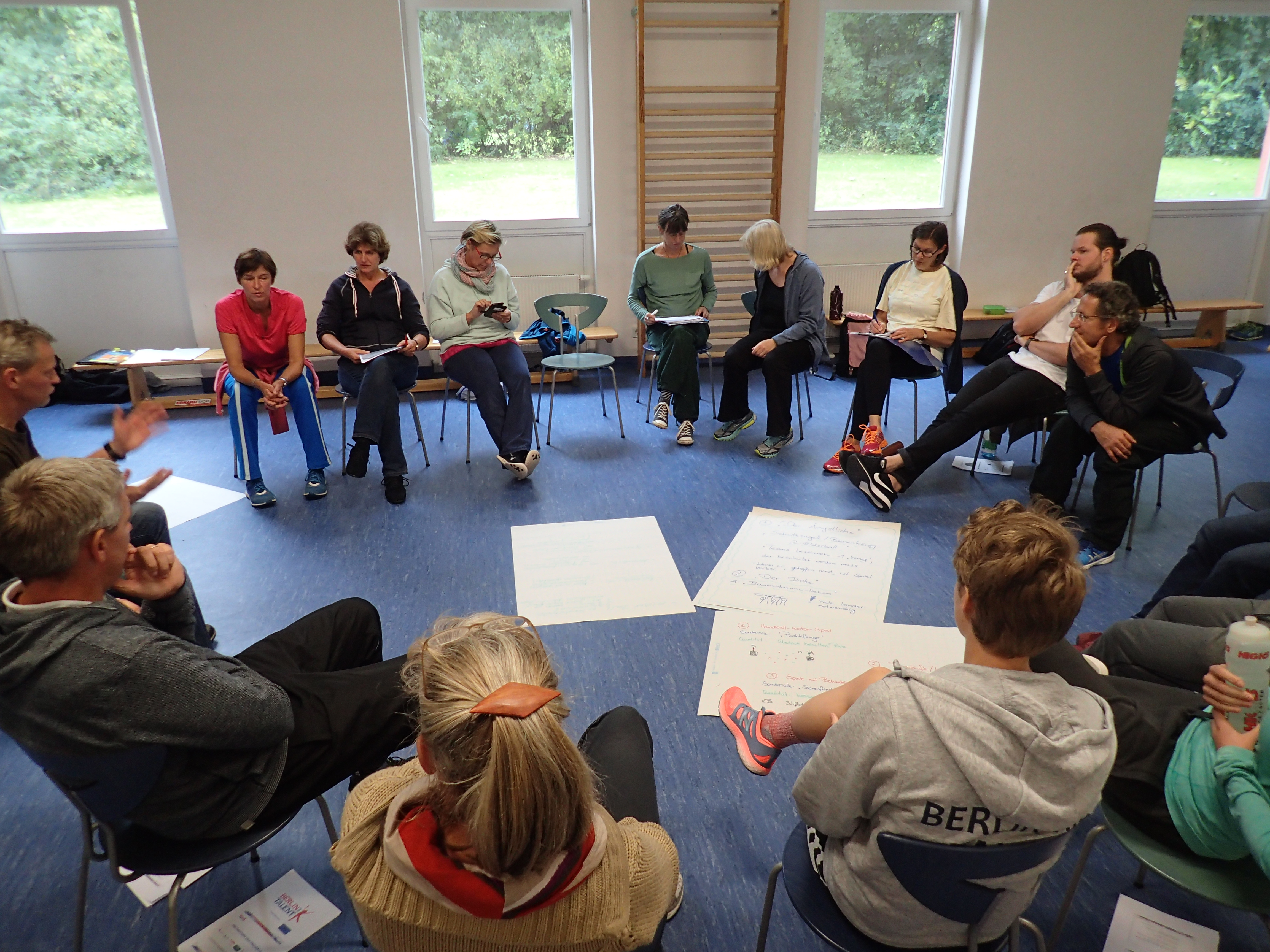 LSB, Berlin hat Talent, Bewegungsfördergruppe, Fortbildung