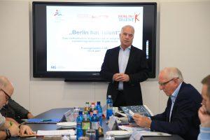 LSB Berlin, Berlin hat Talent, Pressegespräch, Böger, Zinner, Poller, Wolfahrt