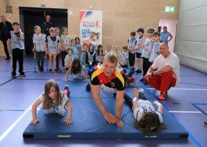 """Olympiasieger Marcus Groß unterstützt """"Sport macht Schule"""""""