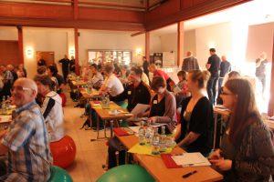 BERLIN HAT TALENT auf der 3. Landeskonferenz Sport und Gesundheit, Foto: LSB M-V /Adrian